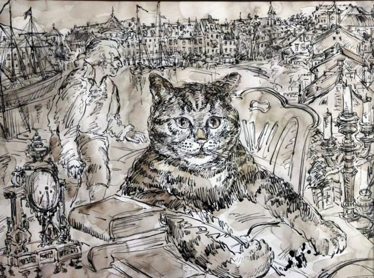 С 28 апреля по 23 мая: Выставка «Кот Мурр – источник вдохновения» |  TVOYBRO.COM