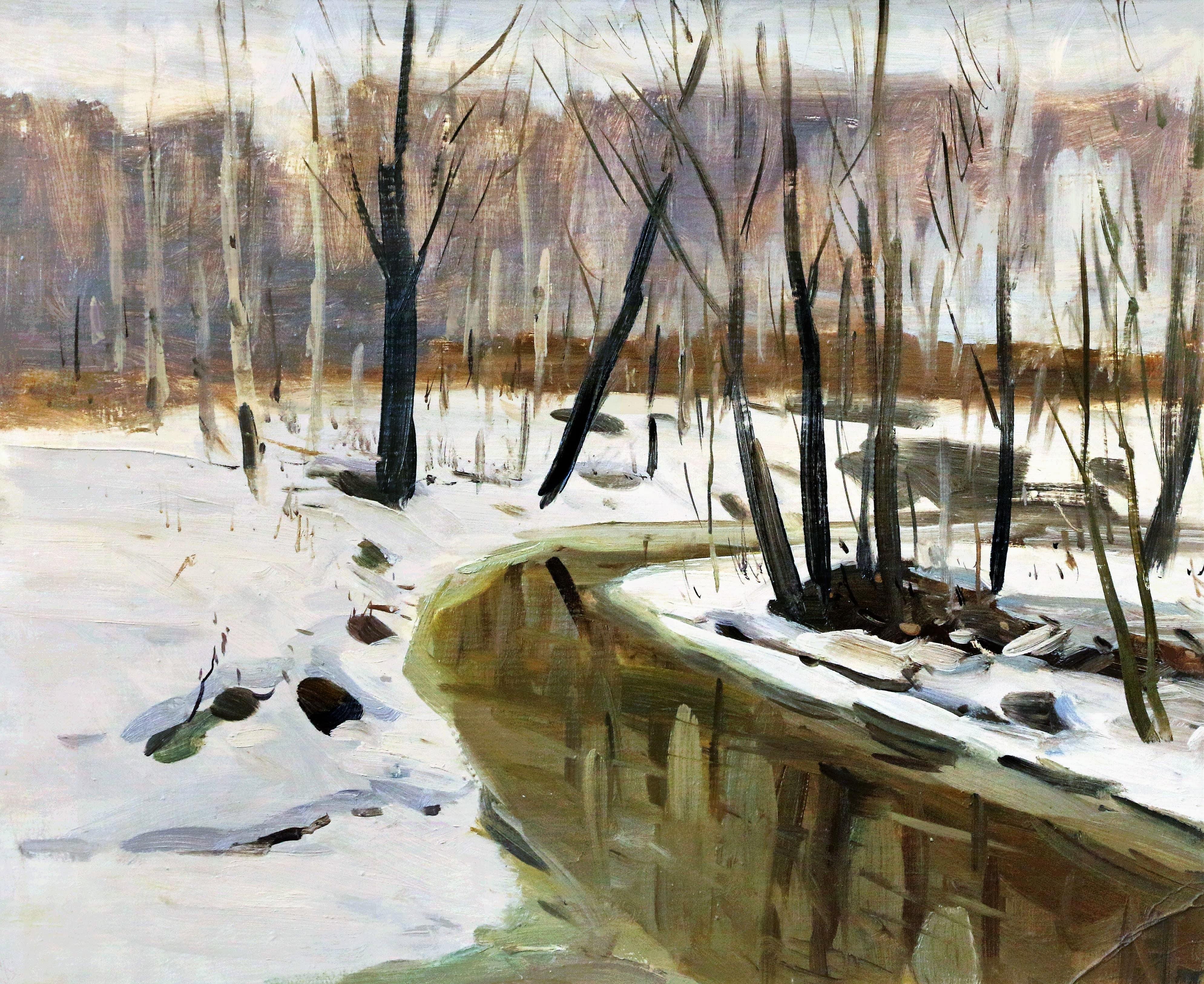 C 1 декабря по 4 февраля: «Зимним сном природа спит…» (из частного собрания коллекционера Игоря Кирикова)