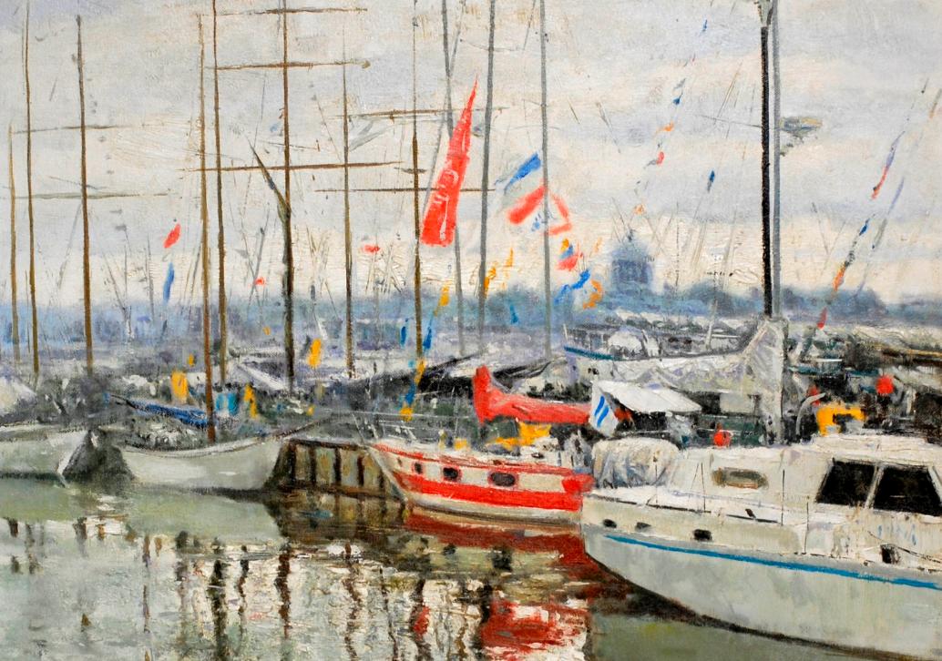 Со 2 декабря по 20 января: «Балтийская симфония»  Персональная выставка живописи Е.П.Щербаня (Санкт-Петербург)