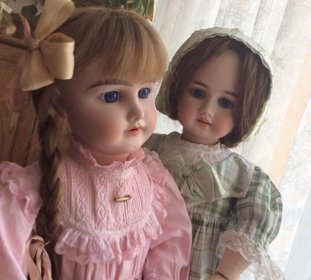 C 16 декабря по 22 января: «Очарование старинной куклы»