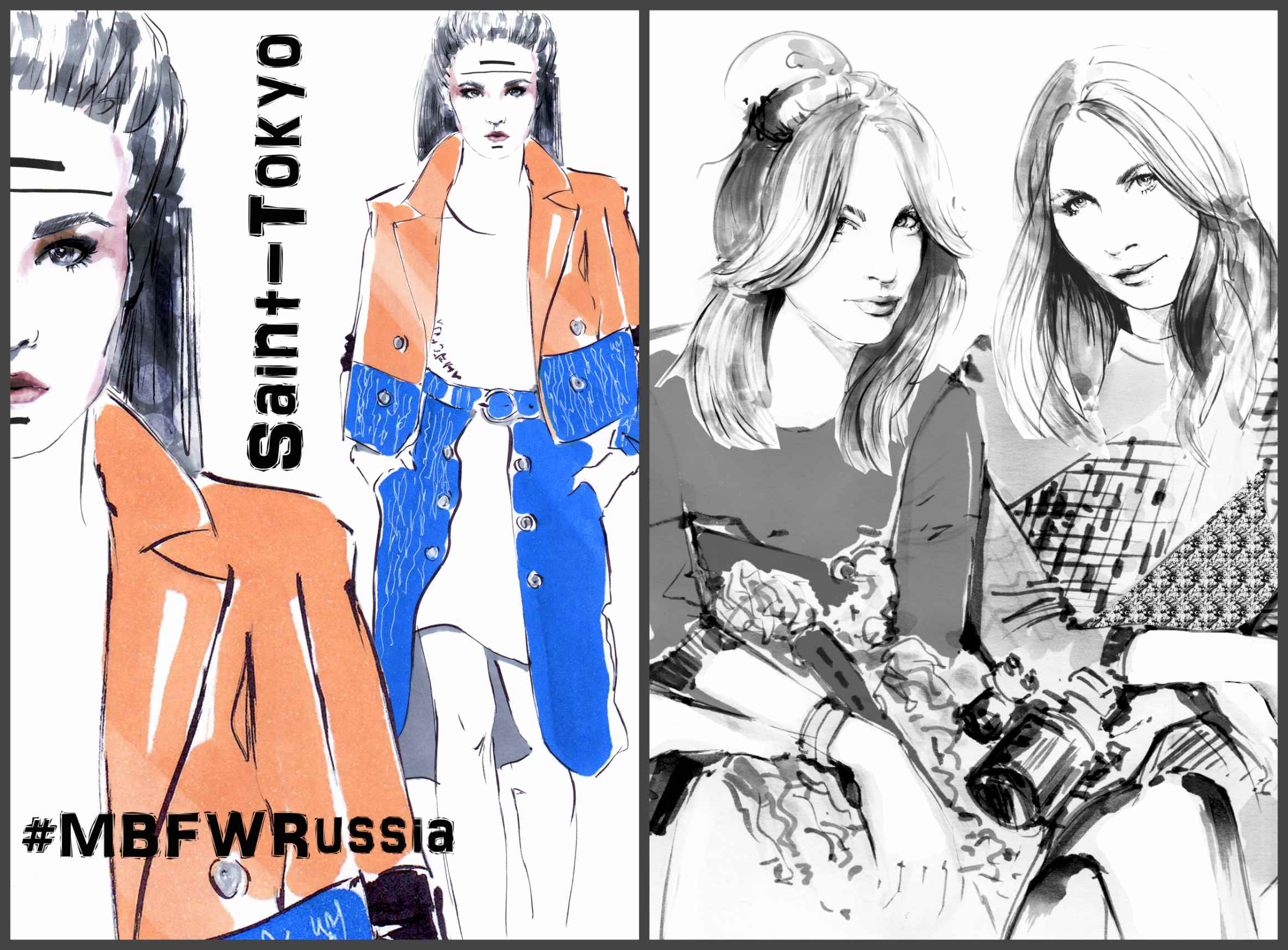Зарисовки с Mercedes-Benz Fashion Week Russia Фото №3