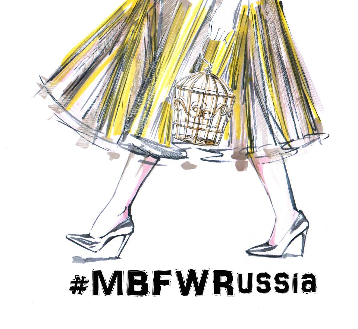 Зарисовки с Mercedes-Benz Fashion Week Russia Фото №5