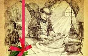 Папаша Беппе расшалился: Вновь разбросал золотые украшения!